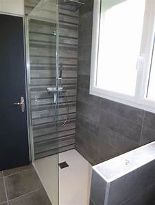 revgercom carrelage salle de bain italienne idee With peinture pour douche carrelage