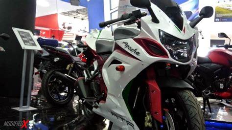 Tvs Apache Rtr 200 4v Modification by Custom Tvs Apache Rtr 200 4v Sports Bike Mod Modifiedx