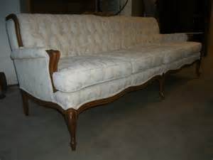 Vintage Chesterfield Fabric Sofa