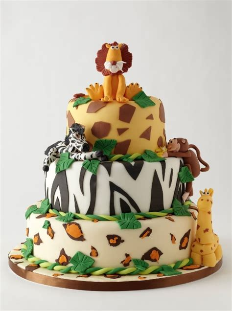 Rise Kitchen And Bakery by Jungle Animal Cake Party Ideas Pinterest A Well