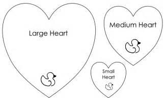 Valentine Heart Templates Patterns