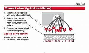 Honeywell Wiring Diagram Thermostat