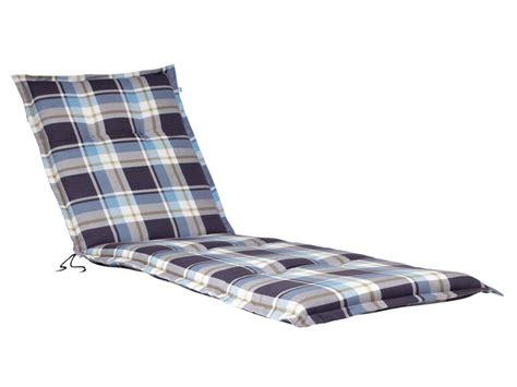 coussin de chaise longue coussin pour chaise de jardin longue lidl