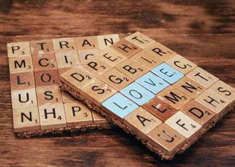 the scrabble coaster diy and its mishaps flat