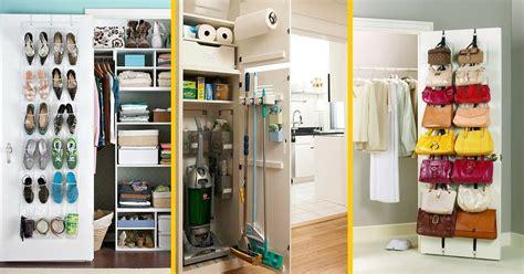 deco porte placard chambre 9 astuces géniales pour tout ranger derrière vos portes