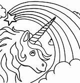 Unicorn Coloring Printable sketch template