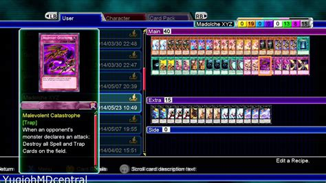 Yugioh Madolche Deck Recipe by Yu Gi Oh Md Millennium Duels Madolche Xyz Deck Recipe