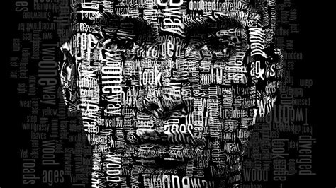 Photoshop Tutorial How To Create A Powerful Text Portrait