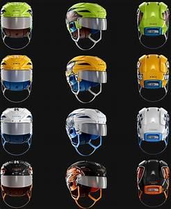 Ice Hockey Nhl Helmet Psd Photoshop Template Mockup