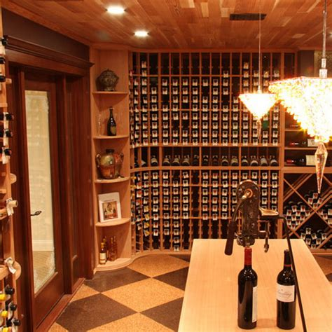 Wine Cellar Lighting  Custom Wine Cellars Chicago