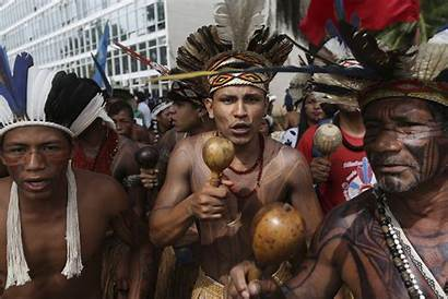 Indigenous Tribes Bolsonaro Brazilian Jair Brazil Against