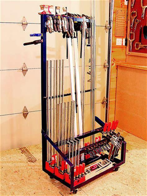 angle iron clamp rack