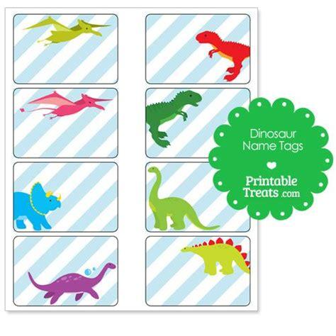printable dinosaur  tags party theme dinosaur
