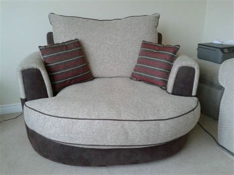 Cuddle Couch With Optional Tray For Sale