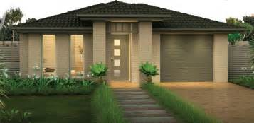 designers home front of the house exteriors single storey home designs adenbrook homes australia