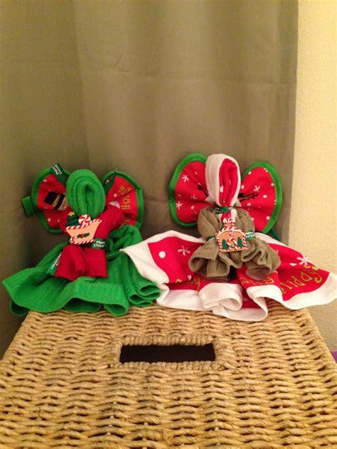 dollar tree xmas dish towel angels christmas crafty