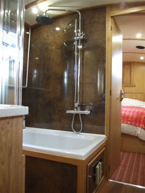 images  narrowboat interiors  pinterest