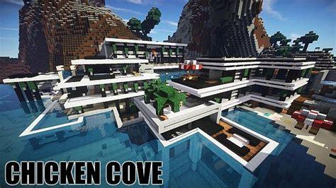 minecraft construction de fou maison de luxe l impression 3d