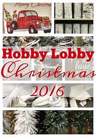 hobby lobby christmas decorations - Hobby Lobby Christmas Decorations 2016