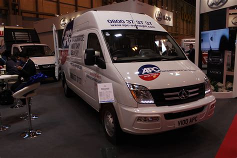 ldv  apc fleet van   cv show  commercial