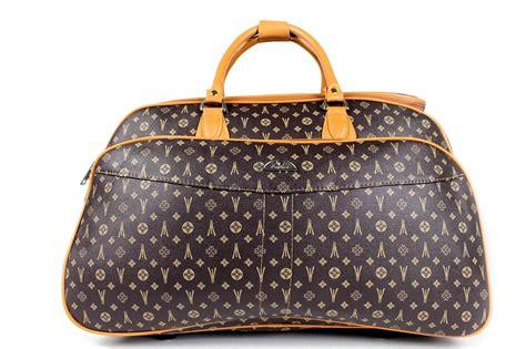 designer weekend bags designer holdall handle wheeled trolley