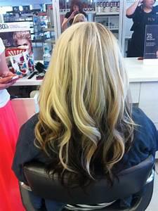 Blonde Hair With Dark Brown Underneath Beauty