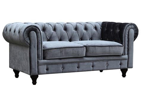 chesterfield canape canape chesterfield velours