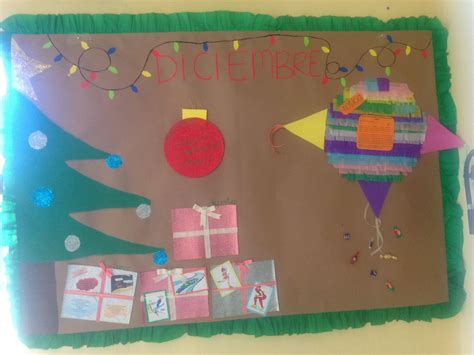 imagenes de periodicos murales peri 243 dico mural diciembre escuela pinterest