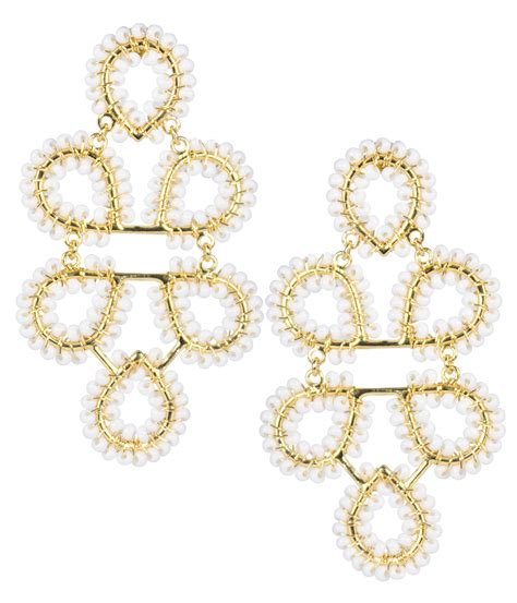 Lisi Lerch Ginger White Earrings  Hauteheadquarters. Mall Shopping Chennai Gold Jewellery. Amin Jewellery. Pink Suit Jewellery. Heritage Jewellery. Vietnamese Traditional Jewellery. Casual Jewellery. Shopping Zone Jewellery. Wire Weaving Jewellery