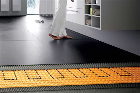 schluter heated floor decorative tile coming soon san diego marble tile