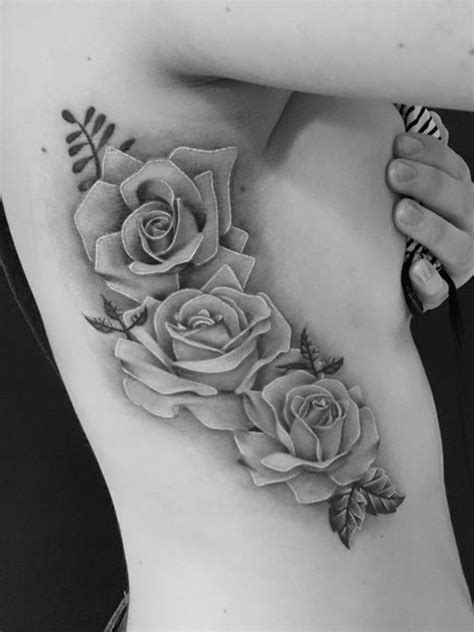 flower tattoos for women black and grey - Google Search | Rose, butterfly tattoo, Rose tattoos