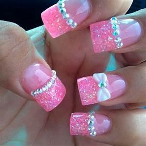 Top 70 Cute Bow Nail Art Designs   Beauty Tips, Hair Care