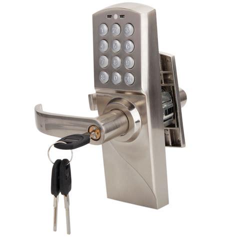 code door lock digital electronic code keyless keypad security entry door
