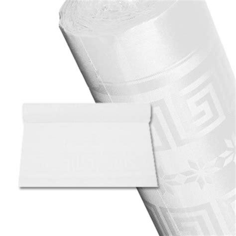 nappe papier rouleau nappage blanc 50m jetable