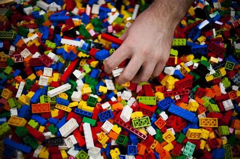 College Students Craft Their Lego Masterpieces At Flint