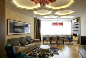 modern ideas for living rooms techos modernos con luces led integradas 50 ideas