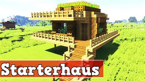 Wie Baut Ein Haus by Wie Baut Ein Starter Haus In Minecraft Minecraft