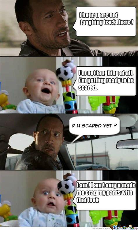 Rock Baby Meme - another the rock vs baby by ashkimodie meme center