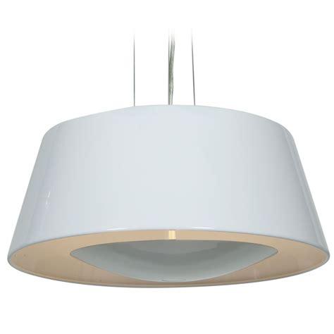 white drum l shade access lighting soho glossy white pendant light with drum