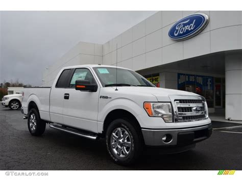 ford truck white 2013 oxford white ford f150 xlt supercab 76564755