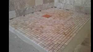 salle de bain 2 youtube With salle de bains mosaique