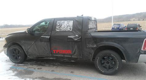 2019 dodge ram prototype 2019 ram 1500 v6 doors prototype the fast truck