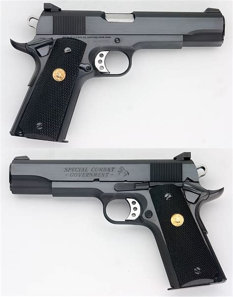 Colt 1911 Special Combat Government Carry Model 45 Acp