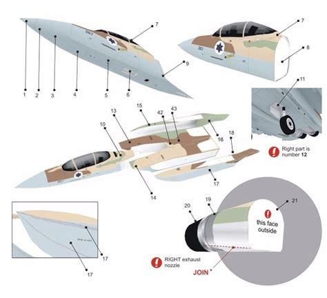 modelos de aviones para recortar y pegar avion militar f