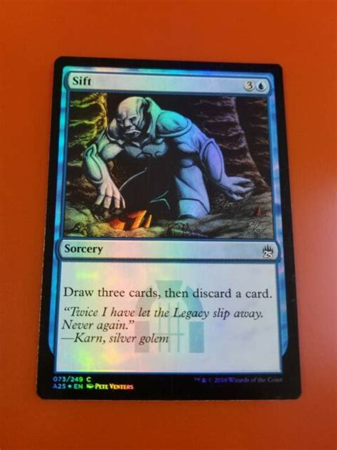 $ 10.00 $ 5.00 add to cart 1x Sift   FOIL   Masters 25   MTG Magic Cards   eBay