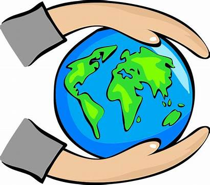 Earth Clip Protect Hands Illustration Holding Environment