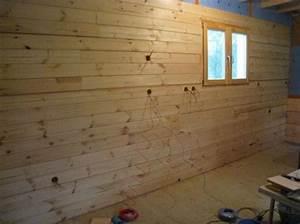 Pose De Lambris Bois : la pose du lambris c est facile forum peinture et ~ Premium-room.com Idées de Décoration