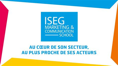 marketing school iseg marketing communication school