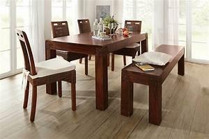 blog deco d39helline With idee deco cuisine avec table salle À manger design bois