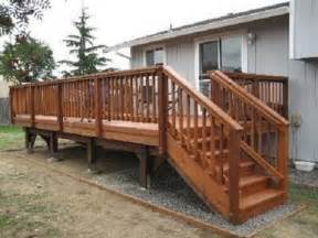 Cheap Balusters For Decks by Build Outdoor Deck Stair Railing Building Deck Stairs And